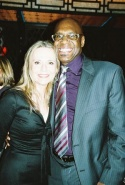 Peggy Lipton and Everett Bradley