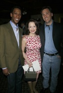 Ron Cephas Jones, Michele Ragusa and Rick Sordelet