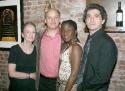 Cast of Spalding Gray: Stories Left to Tell: Kathleen Chalfant, Frank Wood, Hazelle Goodman and Ain Gordon