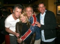Michael Cunningham, Bette Midler, Stephen Daldry and Michael Alden