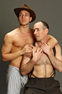 Michael Lazar (as Shakespeare) and Jason Alan Griffin (as 'Bama Boy)