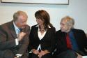 John Austin Connolly, Mercedes Ruehl and Edward Albee