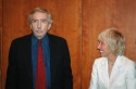 Edward Albee and Francine Horn