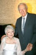 Celeste Holm and Walter Cronkite