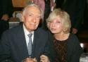 Walter Cronkite and opera singer Joanna Simon