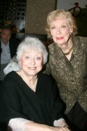 Celeste Holm and Joyce Randolph Photo