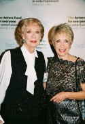 Joyce Randolph and Jane Powell