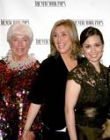 Mrs. Skitch Henderson, Meredith Viera and Lea Salonga Photo