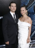 Tobey Maguire and Jennifer Meyer Photo