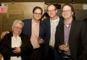 Paula Vogel, Andrew Farber, Mark Brokaw and Vineyard Artistic Director Douglas Aibel
