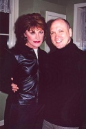 Meg Foster (Lee) and Charles Busch