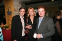 Geffen Artistic Director Randy Arney with Christine Lahti and Robert Wuhl