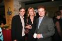 Geffen Artistic Director Randy Arney with Christine Lahti and Robert Wuhl Photo