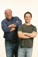 Kevin Chamberlin and Christopher Fitzgerald Photo