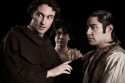 George Drance as Friar Laurence, Ronny Wasserstrom as Balthazar, and Noshir Dalal