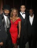 Anthony Chisholm, Tonya Pinkins, James A. Williams and Harry Lennix