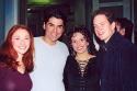 Nili Bassman (Never Gonna Dance), Juan Betancur (Actor), Natalie Hill, and Adam Mon Photo