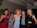 Felicia with ensemble members Regina Angione Ciccone, LaQuet Sharnell, and Harriette  Photo