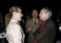 Meryl Streep and Edward Albee