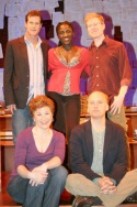 Dylan Walsh, Lisa Kron, Hazelle Goodman, Frank Wood and Anthony Rapp