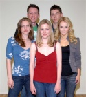 The cast of The Fabulous Life of a Size Zero - (top row) Christopher Sloan, Brian J.  Photo
