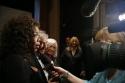 Oprah Winfrey and Elie Wiesel are interviewed
