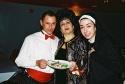 Rhett, Anita and Janine Molinari (Cousin of the Bride: Sister Albert Maria)