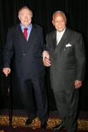 Wynn Handman and David Dinkins