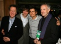 (L-R) Geoffrey Rush, Jack Davenport, Orlando Bloom and Jonathan Pryce Photo