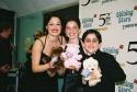Ashley Brown, Kathryn Faughnan and Matthew Gumley