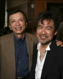 James Hong and Playwright David Henry Hwang
