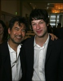 Playwright David Henry Hwang and Castmember Peter Scanavino