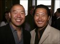 Castmember Hoon Lee and Daniel Dae Kim