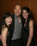 Castmembers Julienne Hanzelka Kim, Hoon Lee and Director Leigh Silverman