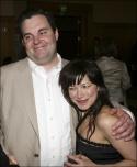 Castmembers Lucas Caleb Rooney and Julienne Hanzelka Kim