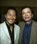 Actors Daniel Dae Kim and James Hong