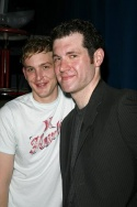 Robin Taylor and Billy Eichner