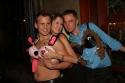 Chris Isaacson, Stefanie LaRue (The LaRue Foundation www.myspace.com/cancerwarrior) and Shane Scheel