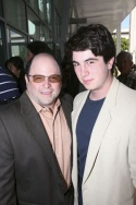 Jason Alexander and son Gabe Alexander