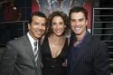 Choreographer Sergio Trujillo, Melina Kanakaredes and Rick Hearst