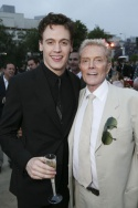 Erich Bergen with Four Seasons Music Producer Bob Crewe Photo