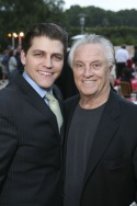 Deven May (who plays Tommy DeVito) with Tommy DeVito