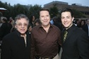 Frankie Valli, leading CTG Board Member Martin Massman and Christopher Kale Jones (who plays Valli)