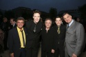 Frankie Avalon, Erich Bergen, Frankie Valli and Christopher Kale