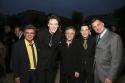 Frankie Avalon, Erich Bergen, Frankie Valli and Christopher Kale Photo