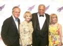 Doug Leeds, James Earl Jones with wife Cecilia Hart and Sondra Gilman