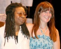Whoopi Goldberg and Kathleen Russo (Spalding Gray's widow)