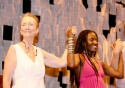 Kathleen Chalfant and Hazelle Goodman