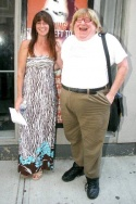 Kathleen Russo and Bruce Vilanch