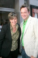 Lucy Sexton and Clinton Kelly